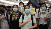 Prodemokratyczna manifestacja w Hongkongu