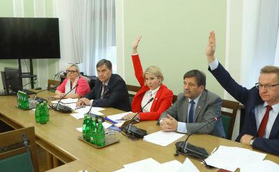Głosowanie dotyczące powtórzenia głosowania w sprawie opinii dotyczącej odwołania Ewy Polkowskiej