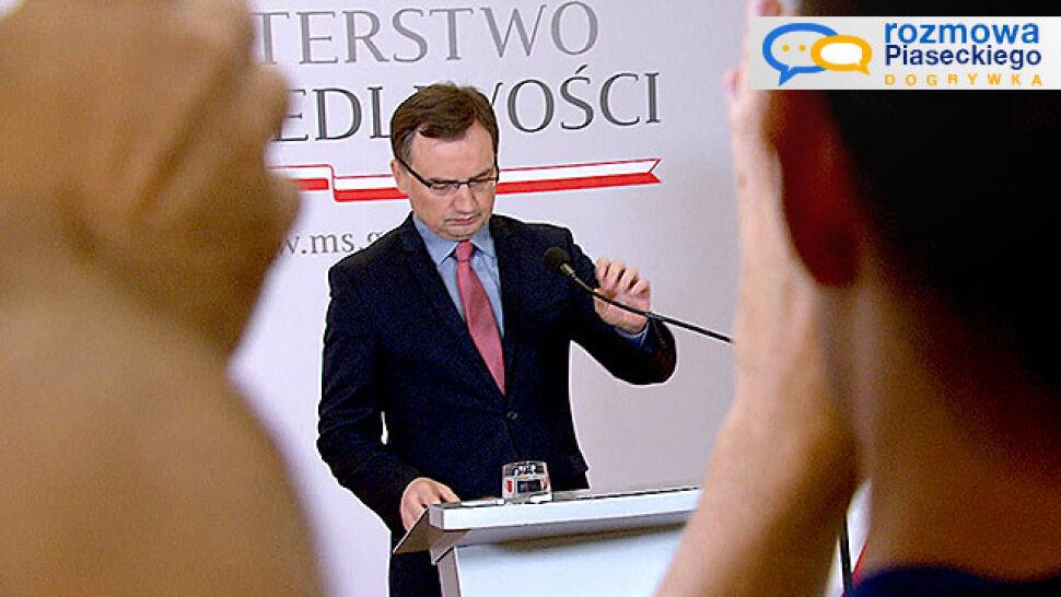 """Spór Pawłowicz i Ziobry w KRS """"pokazuje, że jest pełna demokracja"""""""