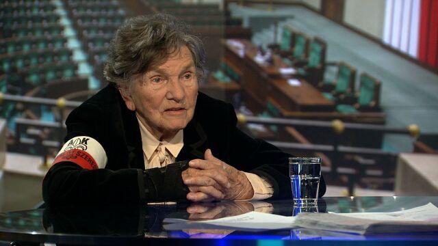 """Wanda Traczyk-Stawska, uczestniczka Powstania Warszawskiego była gościem w """"Faktach po Faktach"""""""