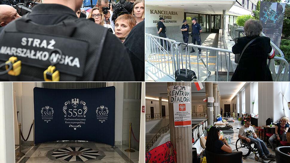 """Blokady, zakazy i ograniczenia. """"Ten Sejm powinien być zamknięty, stać się muzeum"""""""