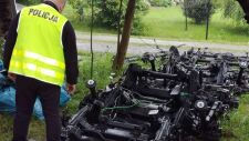 Policjanci i pogranicznicy odkryli trzy paserskie dziuple