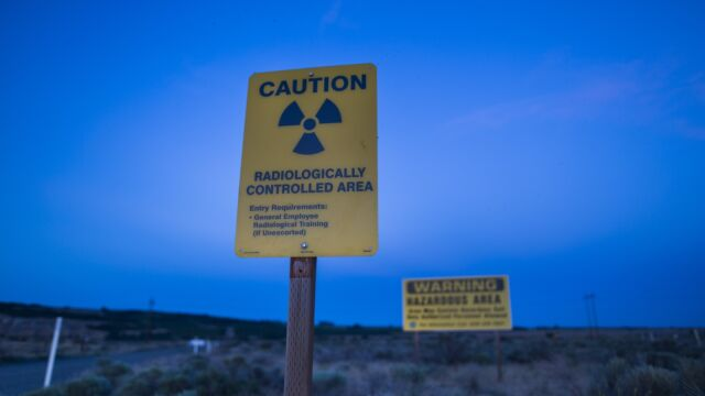 Alarm w kompleksie nuklearnym. Zawalił się tunel z odpadami radioaktywnymi