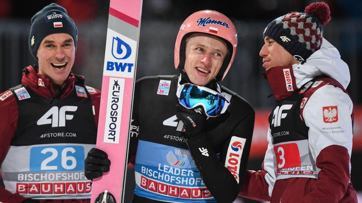 Zacięta walka do końca. Kolejne podium  Polaków w konkursie Pucharu Świata