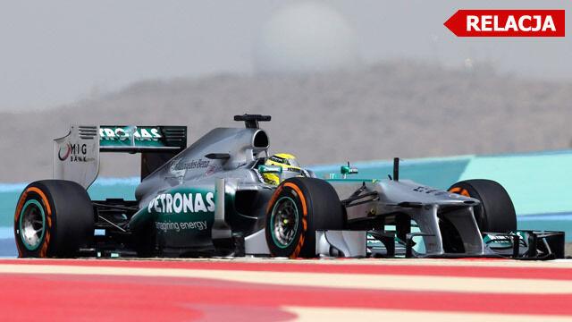 Mercedes wziął pole position. Lauda dumny z Rosberga