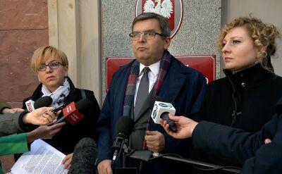 Golbik, Henning-Kloska oraz Urbaniak udali się do siedziby KNF w ramach interwencji poselskiej