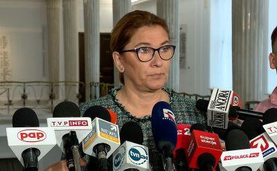 Mazurek o kontroli posłów PO w Ministerstwie Finansów: to jest pokazówka