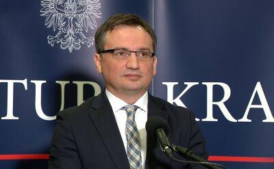 Ziobro: jest intensywna współpraca pomiędzy CBA i prokuraturą