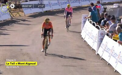 Van Avermaet trzeci na 6. etapie Tour de France, Alaphilippe najszybszy z peletonu