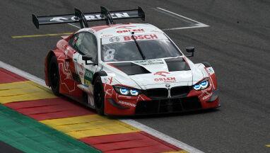 Kubica jechał trzeci. Ostatecznie cieszy się z pierwszego punktu w serii DTM