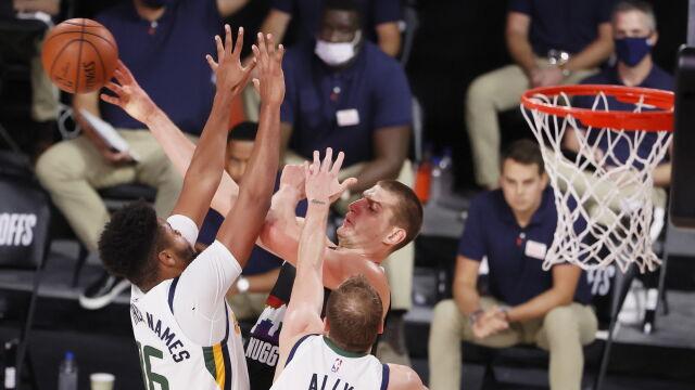 """""""Wielka bitwa"""" w NBA. Nuggets zachowali więcej zimnej krwi"""