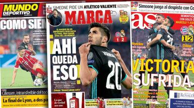Hiszpanie piszą o cierpieniu Realu.