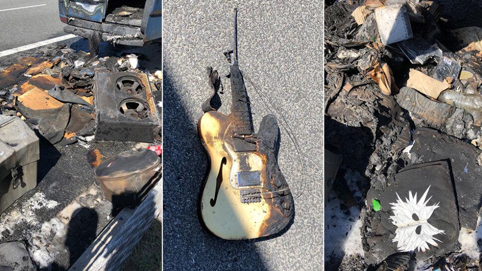 W pożarze stracili niemal cały sprzęt. Proszą fanów o pomoc