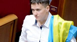 Sawczenko spotkała się z liderami separatystów. Lawina krytyki