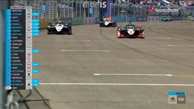 Udany atak Di Grassiego na prowadzenie w pierwszym wyścigu E-Prix Niemiec