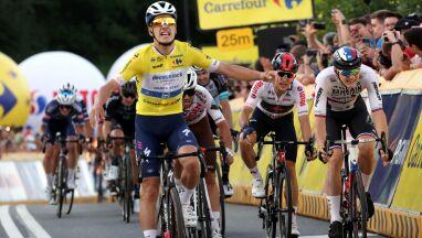 Lider Tour de Pologne pokazał moc. Rosną straty Kwiatkowskiego