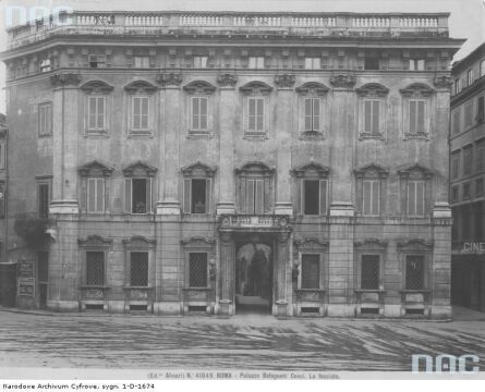 Gmach Ambasady RP w Watykanie, okres międzywojenny