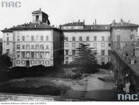 Rzym. Gmach Poselstwa RP, okres międzywojenny