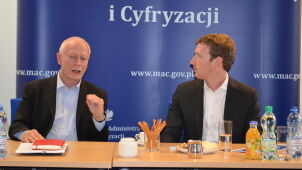 Mark Zuckerberg na wakacjach w Polsce. Spotkał się z ministrem Bonim