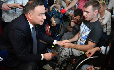 Protestujący w Sejmie przedstawili prezydentowi swoje postulaty