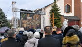 Ceremonia pogrzebowa nastolatek z Koszalina