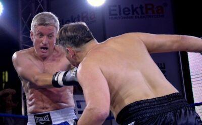 Trening bokserski z Jackiem Jaśkowiakiem na licytacji WOŚP