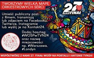 #WOSPwTVN24. Stwórzcie z nami wielką mapę orkiestrowych serc