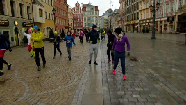 Bieg tyłem we Wrocławiu