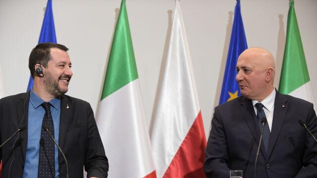 Brudziński o spotkaniu z wicepremierem Włoch Matteo Salvinim