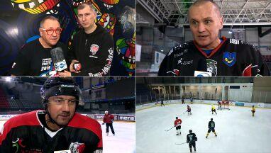 Owsiak zaprasza na wielki mecz hokejowy.