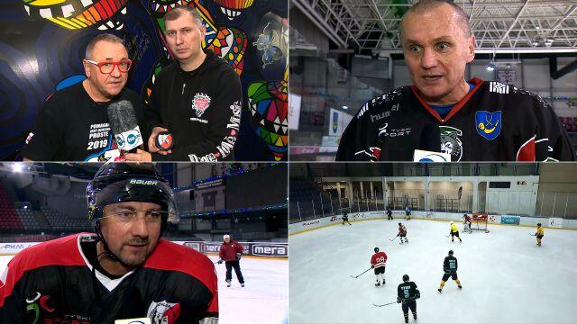 Jerzy Owsiak o meczu hokeja dla WOŚP