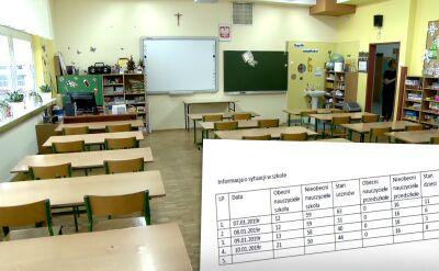 W Łodzi nauczyciele idą na L4