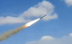 Odpalenie irańskiej rakiety z Jemenu