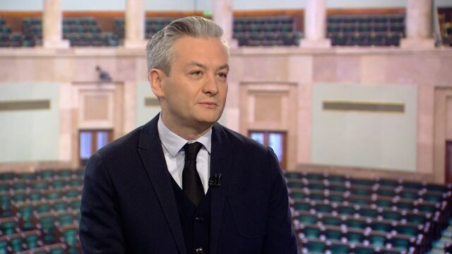 """Robert Biedroń był gościem w """"Faktach po Faktach"""" w TVN24"""