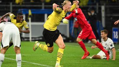 Rekord 18-latka. Borussia wygrywa rzutem na taśmę po szalonej połowie