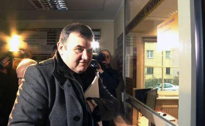 Stanisław Gawłowski stawił się w szczecińskiej prokuraturze