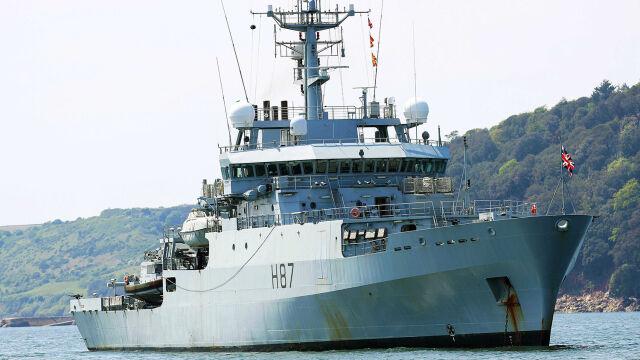 Brytyjski okręt wojenny wpłynął do Odessy