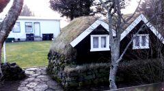 Domki dla elfów w ogródkach Hvolsvöllur