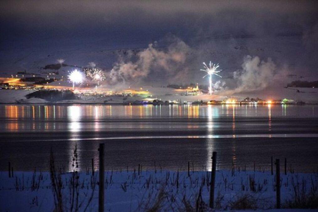 Sylwester 2017/2018 - Akureyri
