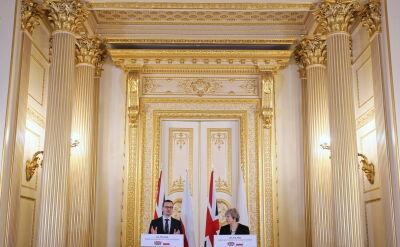 Morawiecki: cieszę się, że Polacy na wyspach brytyjskich mogą czuć się tam spokojnie