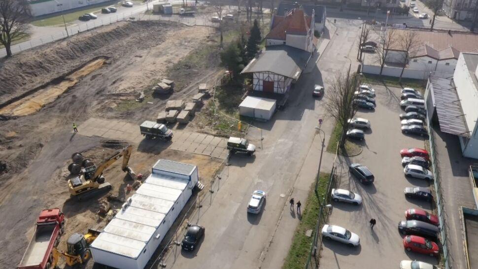 Ewakuacja drugi dzień z rzędu.  Prawie 60 pocisków, granatów i zapalników na placu budowy