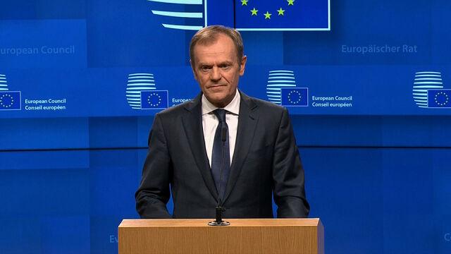 Tusk: krótkie opóźnienie brexitu możliwe, ale pod warunkiem