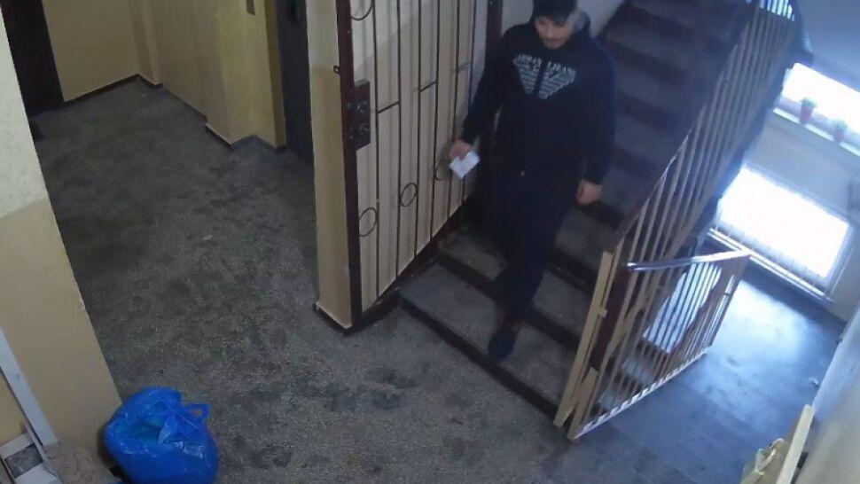 Nie zauważyła, że w mieszkaniu jest złodziej i go zamknęła. Uciekł z łupami po balkonach