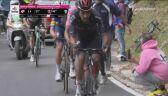 Damiano Caruso zmierza po zwycięstwo wśród szalonych kibiców