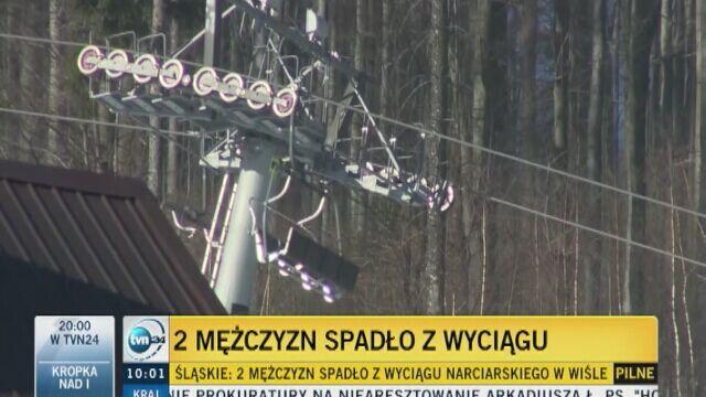 Wypadek na wyciągu w Wiśle