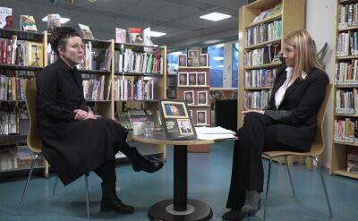 Tokarczuk: król Szwecji jest świetnym rozmówcą