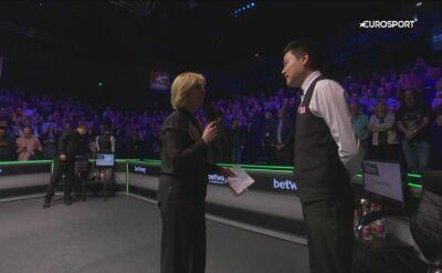 Ding: martwiłem się, że już nic więcej nie wygram