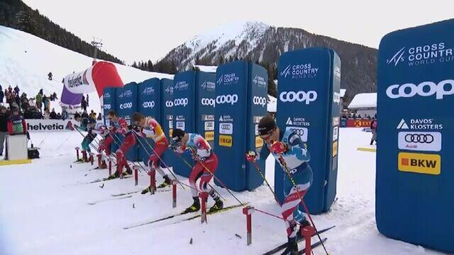 Norweg Klaebo najszybszy w Davos