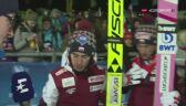 Kubacki i Stoch po konkursie w Klingenthal