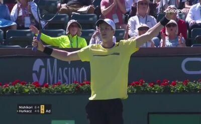 Hubert Hurkacz awansował do czwartej rundy turnieju w Indian Wells